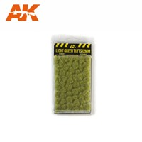 LIGHT GREEN TUFTS 10MM